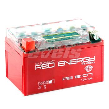 Red Energy RE12-07 (YTX7A-BS 7А/ч)