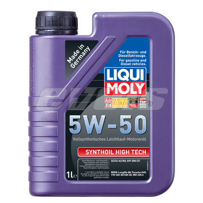 Масло моторное 5W40 LIQUI MOLY 1л синтетика Synthoil High Tech — основное фото